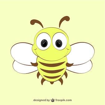 Icono de abeja simpática