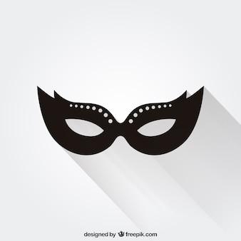 Icono de máscara de carnaval