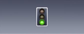 Icono de tráfico ligero