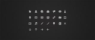 Iconos blancos