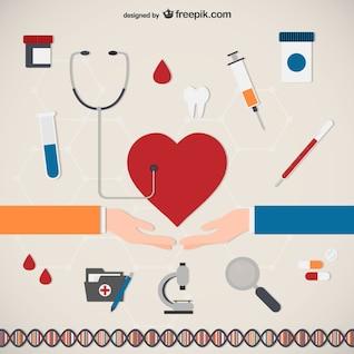 Iconos de Atención Médica