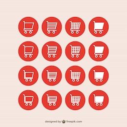 Iconos de compra online