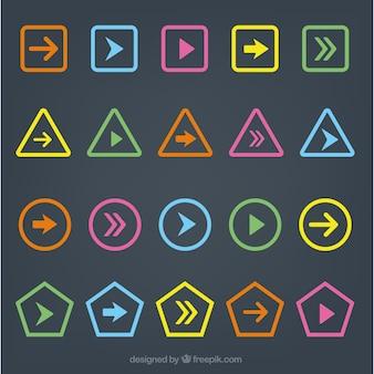 Iconos de flechas