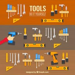 Iconos de herramientas