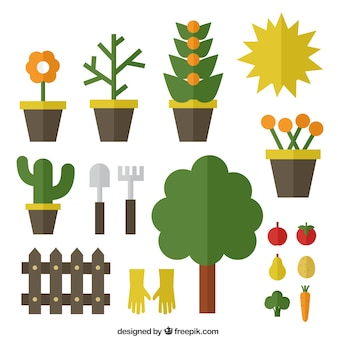 Iconos de jardinería