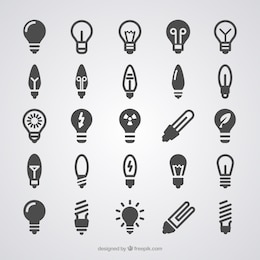 Iconos de la bombilla