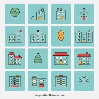 Iconos de la casa