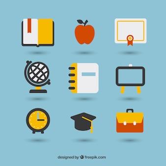 Iconos de la escuela