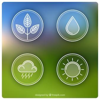 Iconos de la naturaleza