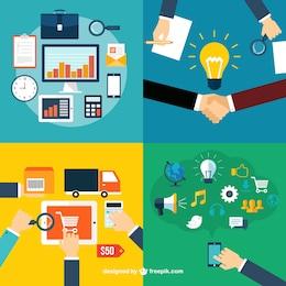 Iconos de las funciones de negocio