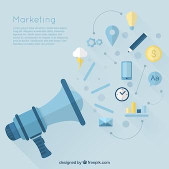 Iconos de Marketing
