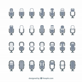 Iconos de micrófono