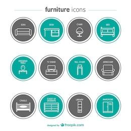 Iconos de muebles