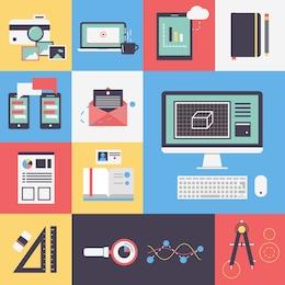 Iconos de oficina
