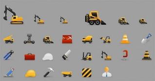 Iconos de tema de construcción