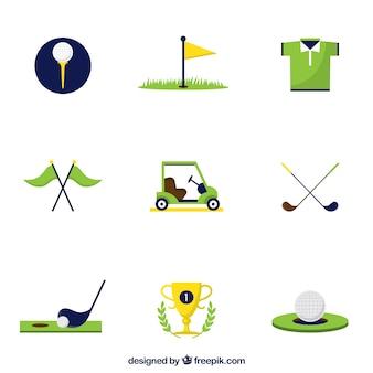 Iconos del golf