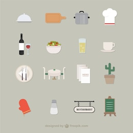 Iconos del restaurante