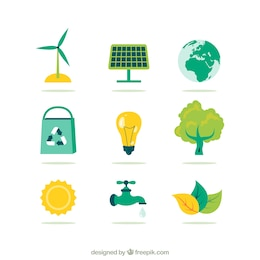 Iconos medioambientales