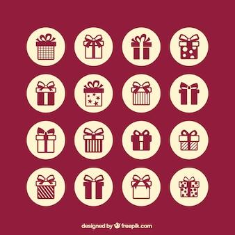 Iconos regalo