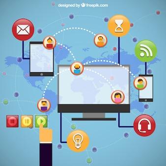 Iconos Sociales infografía