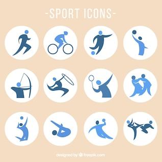 Iconos vectoriales de deportes