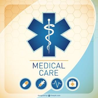 Illustración de fondo de medicina