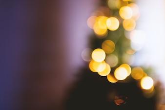 Iluminación de árboles de Navidad