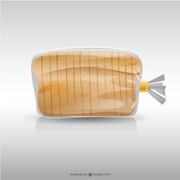 Ilustración de bolsa de pan