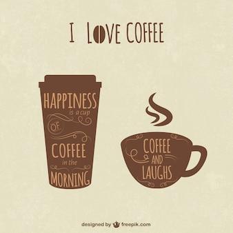 Ilustración de café