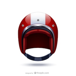 Ilustración de casco deportivo