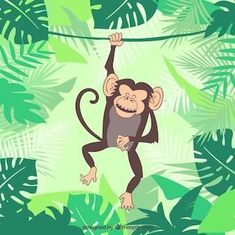 Ilustración del mono