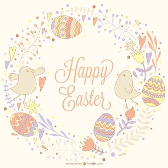 Ilustración dibujada a mano Pascua