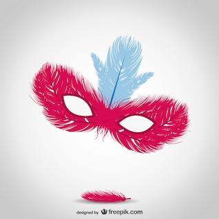 Ilustración vectorial máscara