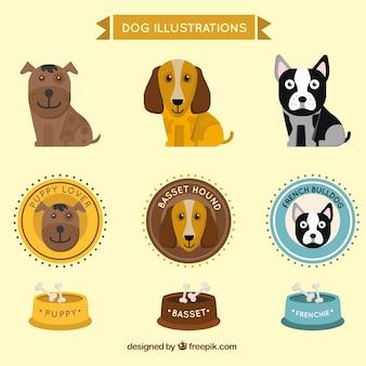 Ilustraciones de perro