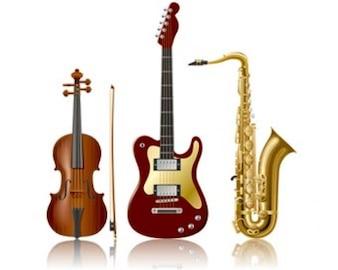 ilustraciones de stock de instrumentos musicales
