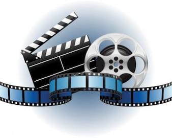 ilustraciones de stock vectores cine