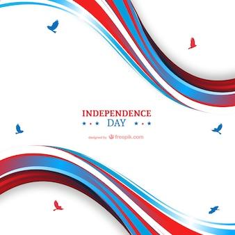 Día de la Independencia de fondo