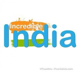 India azul símbolo