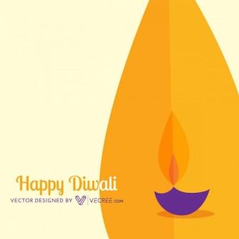 India festival de Diwali con las llamas