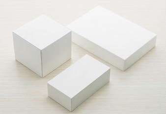 Industria de objeto abstracto blanco de la cartulina