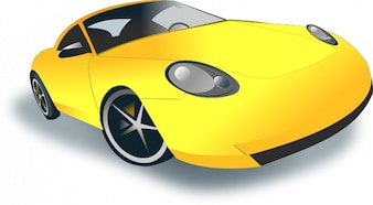 Info com coche deportivo dominio público