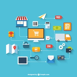 Infografía de e-business