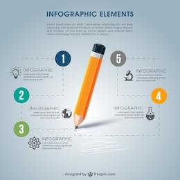 Infografía de escuela