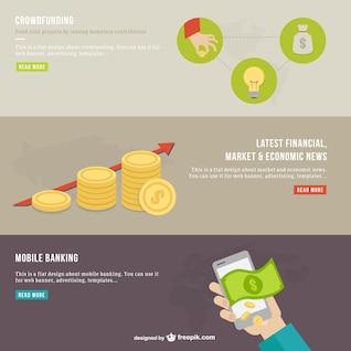 Infografía de finanzas modernas