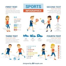 Infografía Deportes