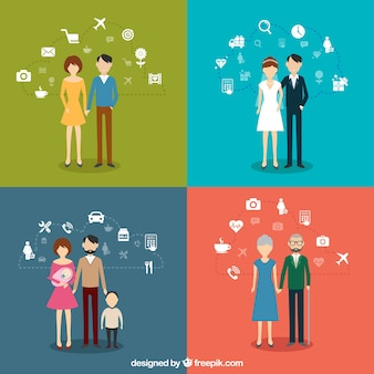Infografía familiares