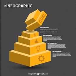Infografía jerarquía