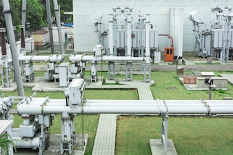 Infraestructura de alto voltaje