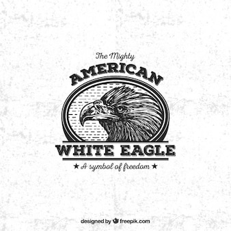 Insignia águila blanca estadounidense