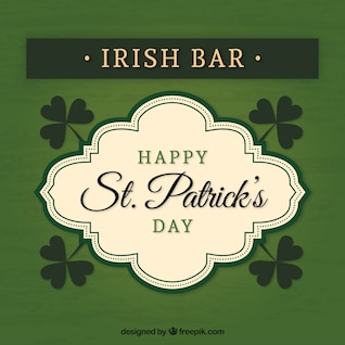 Insignia de bar irlandés